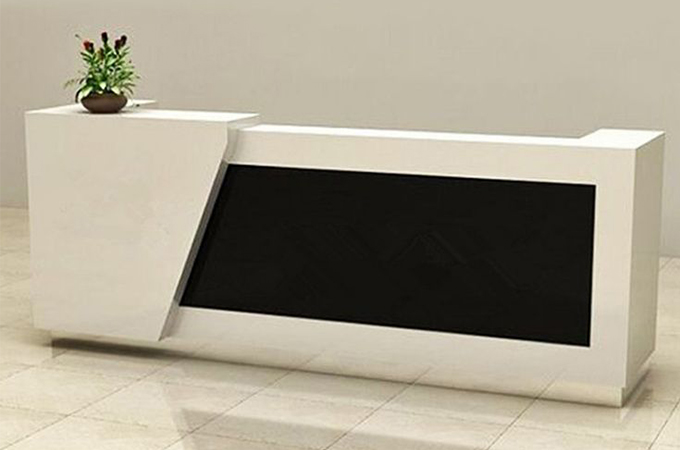 However, Reception Desks Should Also Be Practical And Provide A Suitable  Workstation For The Receptionist.